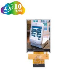 2.4 polegada 240*320 IPS TFT LCD QVGA com 8 bits Interface MCU da auto total da fábrica de produção