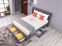 Letto moderno Storge Letto Adulto Set di mobili per la casa Doppia Letto a piano letto, letto a chiatta, divano, mobili