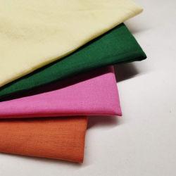 Tecidos de linho L14*14 para Mens Shirts Gots sólido puro orgânicas certificadas 100% tecido de linho DP