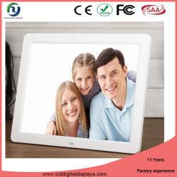 Nuevo diseño del reproductor multimedia de alto brillo LCD Digital Signage el marco de fotos nuevos modelos (WiFi, pantalla táctil de la batería, montaje en pared)