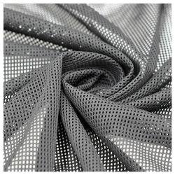 100% poliéster agujero cuadrado de tejido de malla de polipropileno para ropa deportiva o mochila