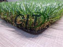 20-40 잔디밭 환경 친절한 플랜트 합성 뗏장 인공적인 잔디를 보는 mm 성격
