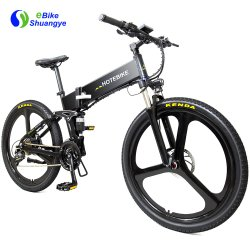 Bici elettrica piegante cinese della bicicletta della montagna lega del magnesio da 26 pollici