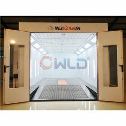 Wld9000 Polvo cabina de pintura / Estándar Tamaño de la cabina de pintura / cabina de pintura del ciclo de secado Irlanda