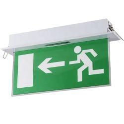 Simva nachladbares LED Feuer-Notausgang-Zeichen-Licht, Feuer-Notleuchte-Ausgangs-Zeichen-Ausgangs-Lampe des Qualitäts-Notausgang-Zeichen-LED