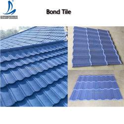 스리랑카 스톤 코트 컬러 스틸 플레이트 태양열 지붕 타일 지붕 타일 설치 펜의 젖은 지붕에 대한 교정