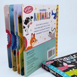 La actividad de los niños Libro de la junta con la Ronda de ruedas, libro de la Junta de Servicio Priinting baratos