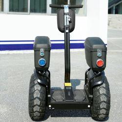 Off Road Electric Equilíbrio Chariot Scooter off-road Carrinho com barra de patrulha Eléctrico Scooter