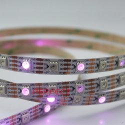 30 LEDs faixa endereçável magia RGB LED Digital Pixel Luz faixa 12V 2811 com o fornecedor de energia e do Controlador