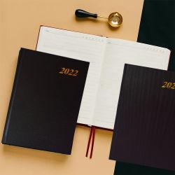 아마존 핫 셀링 A5 비즈니스 플래너 저널 PU 일지 2022 사용자 지정 로고 인쇄 메모장 Office 학교 의제 노트