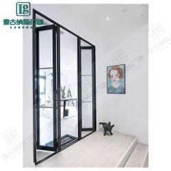 1.2-2.0 spessore porta in alluminio bimotore/porta in lega di alluminio/porta pieghevole in metallo/zincata Porta in vetro in acciaio/scorrevole/patio/oscillante/anta/anta in vetro