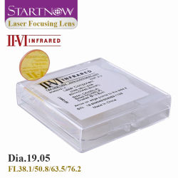 II-VI D19.05mm 초점 렌즈 적외선 CVD ZnSe 초점 렌즈 CO2 레이저 절단 장비 예비 부품