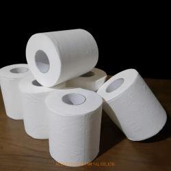 Ménage de papier toilette Papier Recyclé Pulpcustomsized en bois de l'hôtel bon marché vierge en vrac souple Grand ménage du rouleau de gaufrage 2/3/4 Papier hygiénique de la couche de pâte à papier
