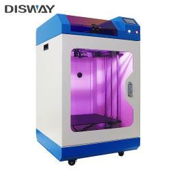 Drucken-Maschine der Farbe LCD-Bildschirmanzeige-Aluminiumdruck-Plattform-3D