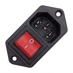 IEC C14 Interruptor Eléctrico do soquete do conector de sinal para equipamento médico a máquina