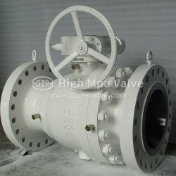 Hautes performances à 2 pièces Duplex Electirc ss/Hydraulique Pneumatique/réduit l'alésage plein Port/ plein avec la pression de clapet à bille 150lb, 300 lb, 600 lb