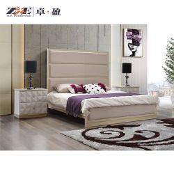 حجم كبيرة حديثة خشبيّة فندق غرفة نوم مجموعة بناء تصميم سرير