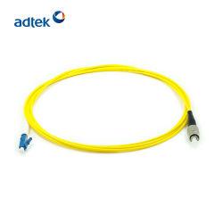 prix d'usine LC-FC Sm Simplex 3m Cordon de brassage de cavalier à fibre optique