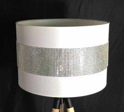비 Elc를 가진 테이블 램프를 위한 인공적인 결정을%s 가진 현대 도매 전등갓 지팡이