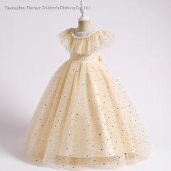 Comercio al por mayor ropa de niños Niños de compras en línea Frocks Diseños de vestidos niña vestidos de flores para niños Venta al por menor de soporte de desgaste