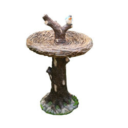 卸し売り屋外の樹脂の庭の鳥水送り装置の鳥の浴室