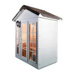 La pérdida de peso de alta calidad Sauna exterior de madera de la casa en venta