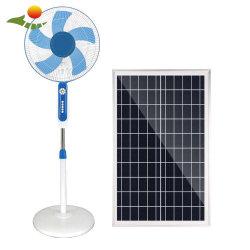 La energía solar el ventilador Ventilador de pie con 20W de iluminación del panel solar