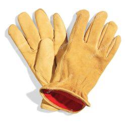Короткое замыкание сборной кожаные перчатки 10,5'' драйвера перчатки
