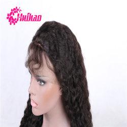 Silk niedrige volle Spitze-Perücke mit Baby-Haar100% unverarbeitete Afro-Menschenhaar-Perücke-brasilianischer Jungfrau-Haar-Perücke für schwarze Frauen