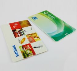 Clé USB de carte de crédit pour un logo personnalisé