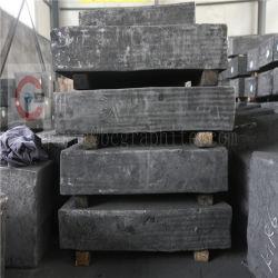 Moldado vibrou de elevada pureza para bloco de grafite isostática extrudido