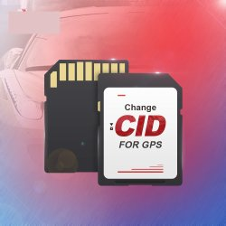 Mudança de OEM Cid Black Custom Cid SD Escrever/Clone Cid 16GB do cartão de memória para GPS Navi