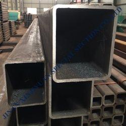 Q195 Q215 Q235 Q345/soudé tuyau sans soudure en acier au carbone doux/noir carré de tuyaux en acier/tube rectangulaire
