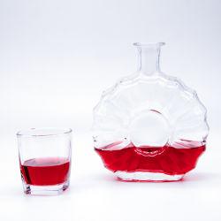 500-1000ml/licores licores / Vodka o whisky/Ron/agua/Brandy/Xo/vino Frasco de vidrio con cristal