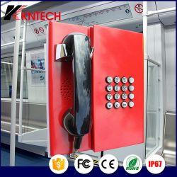 Telefono resistente all'intemperie con i telefoni di prevenzione di obbligazione del microtelefono Knzd-31