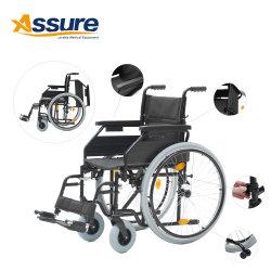 La norme européenne Manuel d'acier pliable Non Rollator fauteuil roulant électrique