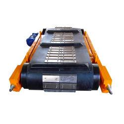 Les courroies d'armure de matériaux de convoyeur de la ferraille Séparateur magnétique Overband