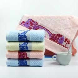 Conjunto de Oferta de toalhas toalha de rosto com o logotipo de algodão