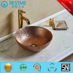 Bacia de cerâmica de alta qualidade em acessórios de banho Bc-7119G