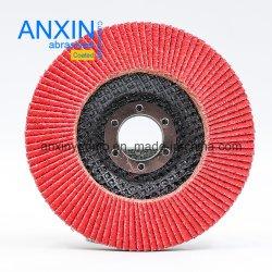 Disco standard della falda per acciaio inossidabile con il panno di ceramica di Zirconia di a/O