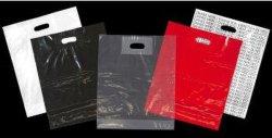 ドア・ノブ袋によって型抜きされる袋パッチのハンドル袋のベストの買物袋の柔らかいループ袋