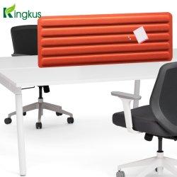 Fibra de poliéster personalizable acústica barrera de sonido de la pantalla de escritorio