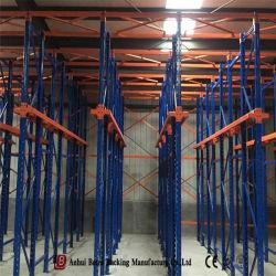 نظام تخزين الرفوف الصلب في المخزن الثابت