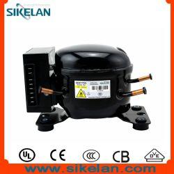 ثلاجة صغيرة بقدرة 600 أمبير بجهد 12 فولت/24 فولت من التيار المستمر وثلاجة تبريد الجزء الخاص بالتبريد ضاغط ثلاجة السيارة Qdzy75g 156W