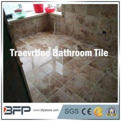 Pedra mármore travertino natural de lado a vaidade/banheiro Wall & Floor