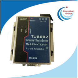 Tu8002 TCP/IP Ethernet RJ45 ao adaptador conversor serial RS232