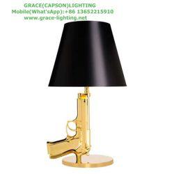 装飾的でモダンなピストルテーブルランプベッドルームライト( GT-7048-1 )