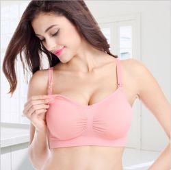 Schwangere Mutterschaftskrankenpflege-Büstenhalter-Unterwäsche mit nahtlosem