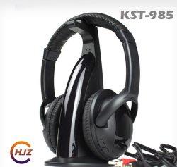 Casque sans fil 5 en 1 casque filaire de soutien de radio FM