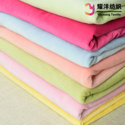 de Stof van het Fluweel 80%Cotton/20%Polyester CVC voor Baby wikkelt in